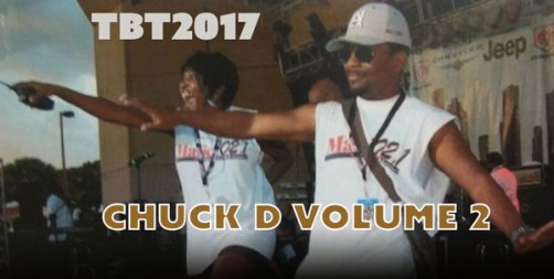 Chuck D Volume 2 and Connie B hyping up the Radio One Family Funday crowd. 10k plus in Attendance