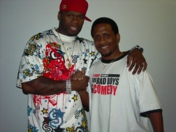 Curtis Jackson aka 50 Hanging out with your DJ