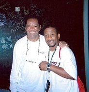 John Witherspoon taking some time to hang out with your DJ